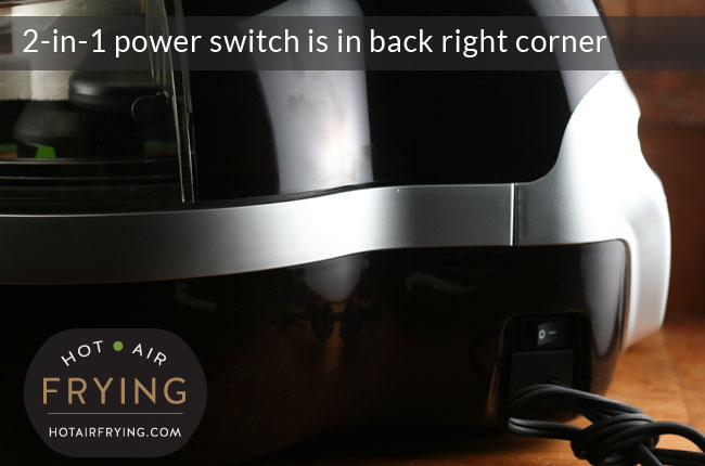 Actifry 2-in-1-power-switch