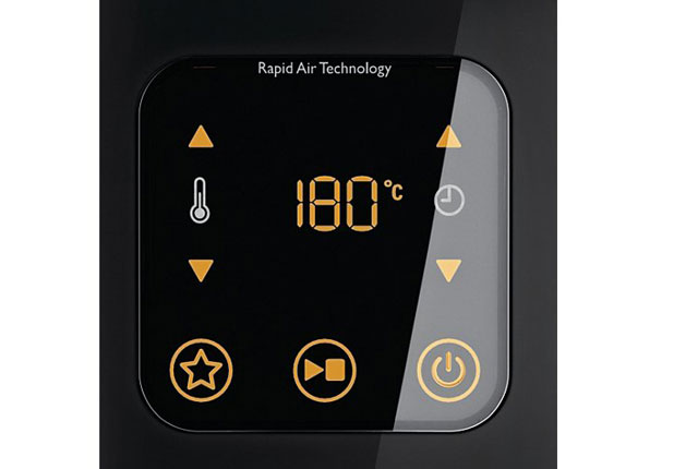 Philips Avance Airfryer XL control panel