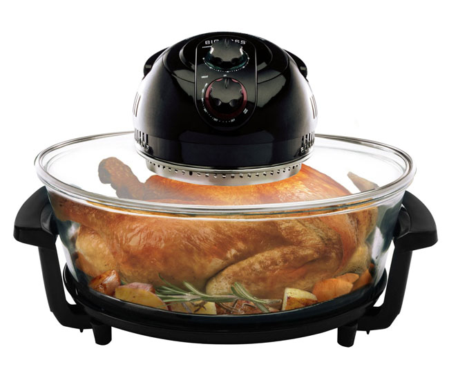 Big Boss Rapid Wave Halogen Infrared Convection Turkey Roaster, Oval