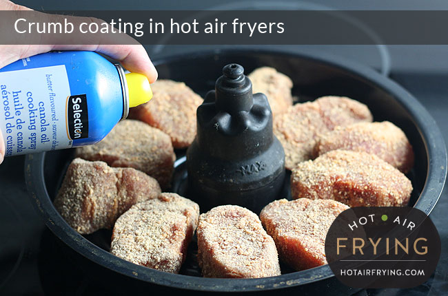 Crumb-coating-in-hot-air-fryers