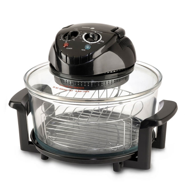 Fagor Halogen Tabletop Oven, black