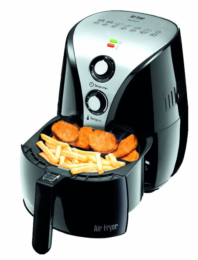 how to clean air fryer coil