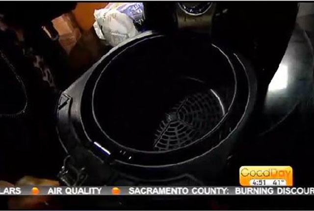 Green Air Fryer Basket