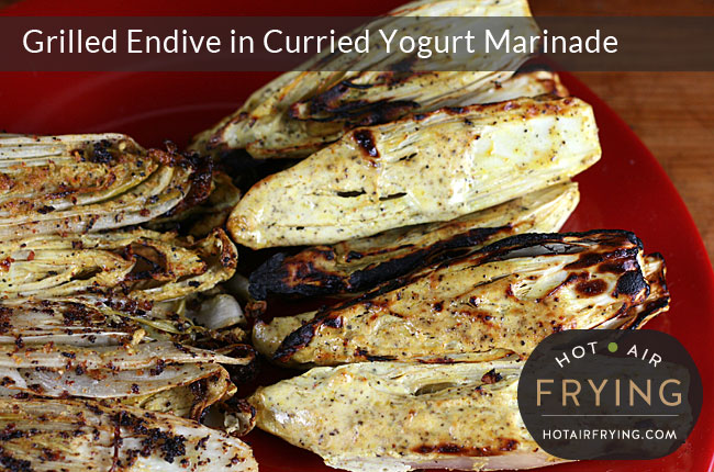 Grilled-Endive-in-Curried-Yogurt-Marinade