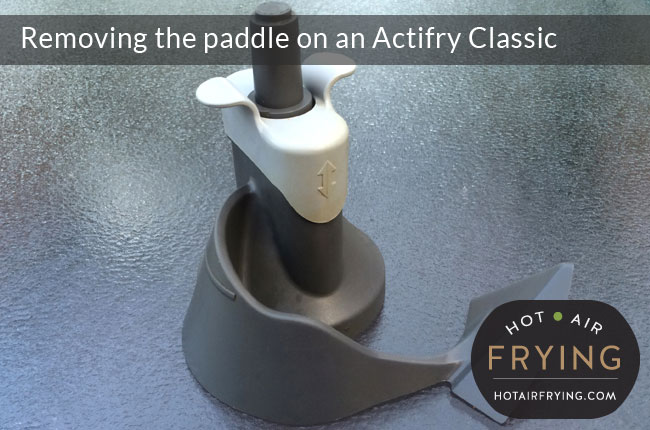 How to remove the paddle on an Actifry