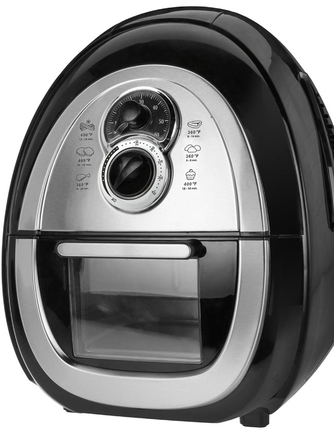 Kalorik Air Fryer: showing viewing window