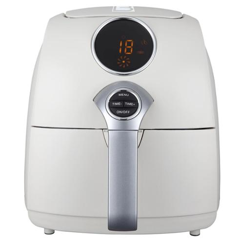 Living Basix JetFry Digital Oil-Free Fryer white digital