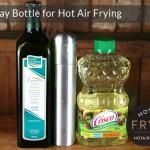 Oil spray bottle