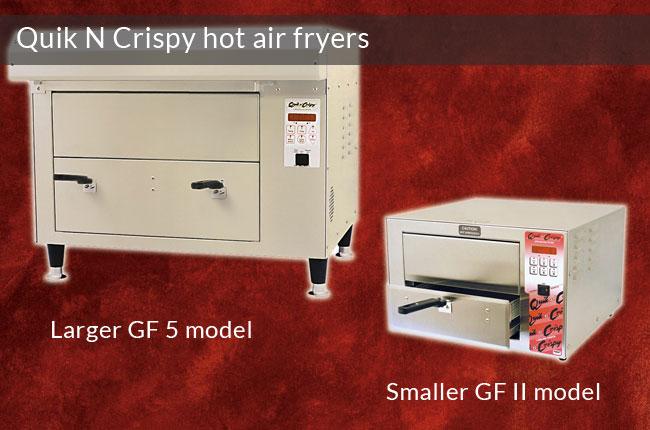 QuikNCrispy Hot Air Fryers