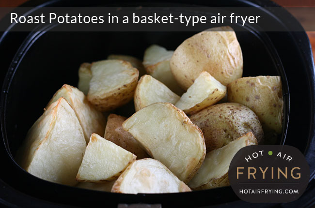 Roast-Potatoes-in-a-basket-type-air-fryer-after-20-mins