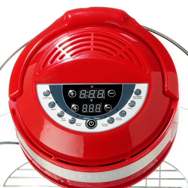 Sharper Image Super Wave Oven Carbon Heat, Infrared & Convection Digital: control panel