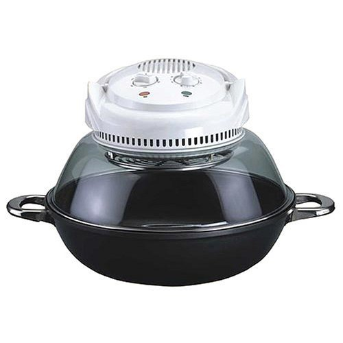 Sunpentown Convection Oven with Nano-Carbon and FIR Heating Element and Wok Base