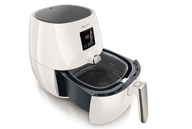 Philips Viva AirFryer (Digital) showing basket