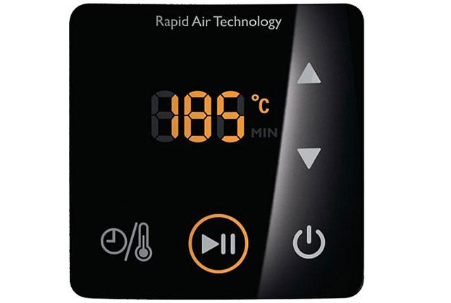 Philips Viva AirFryer (Digital) control panel