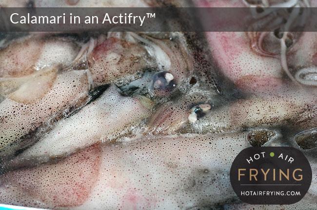 Calamari in an Actifry™
