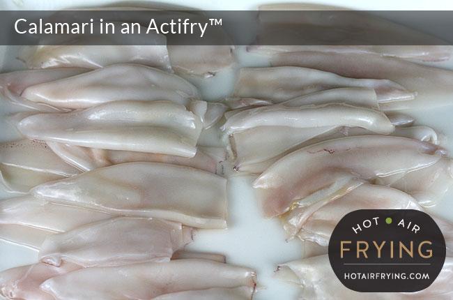 Calamari in an Actifry
