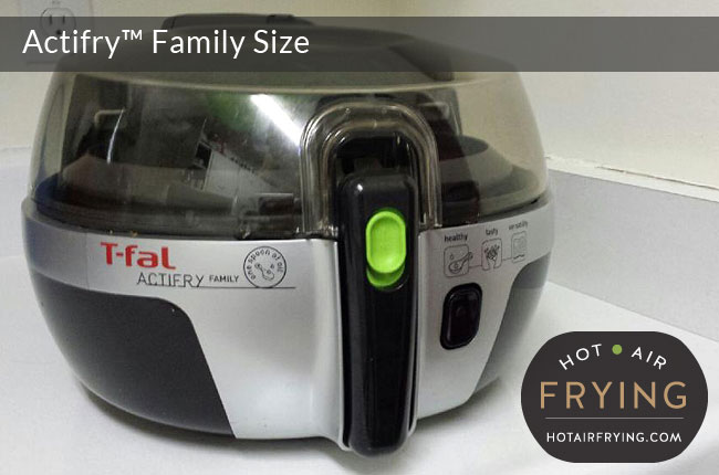 Black Handle for Tefal Family Actifry models AW950xxx