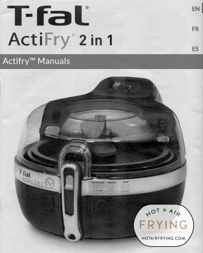 actifry-manuals