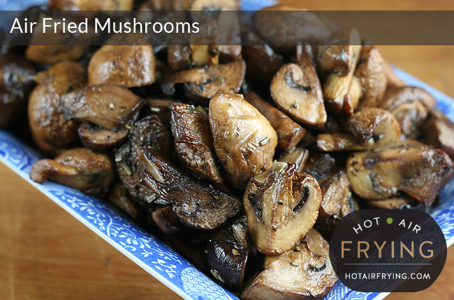 Garlic and vermouth roasted mushrooms