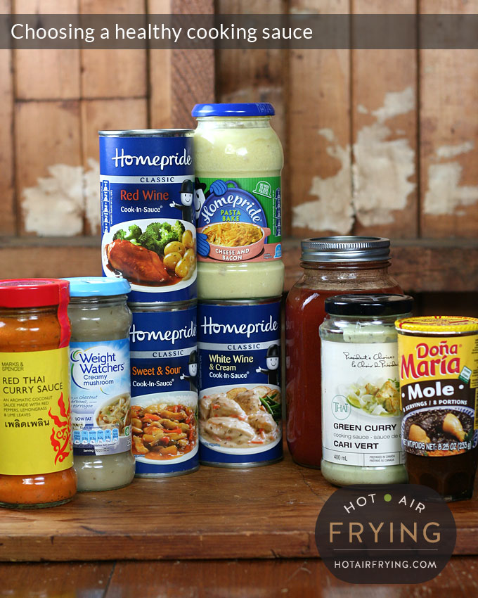 choosing a healthy cooking sauce