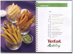 Actifry Classic Cookbook UK PDF