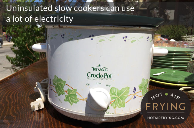 slow cookers can be energy inefficient