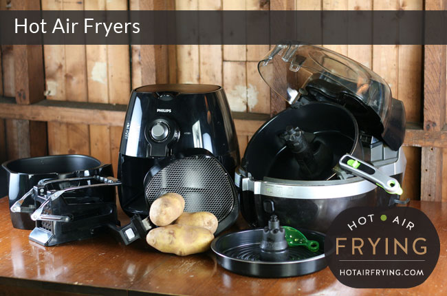 comparing different hot air fryers