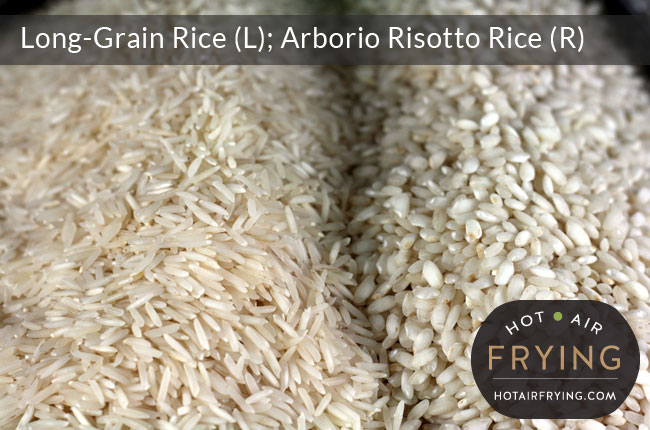 long-grain-rice-compared-to-risotto-rice
