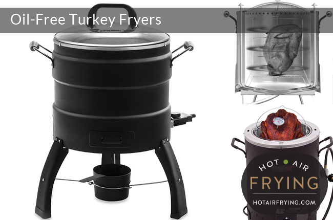oil-free oil-less turkey-fryers