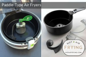 Paddle-Type Air Fryers