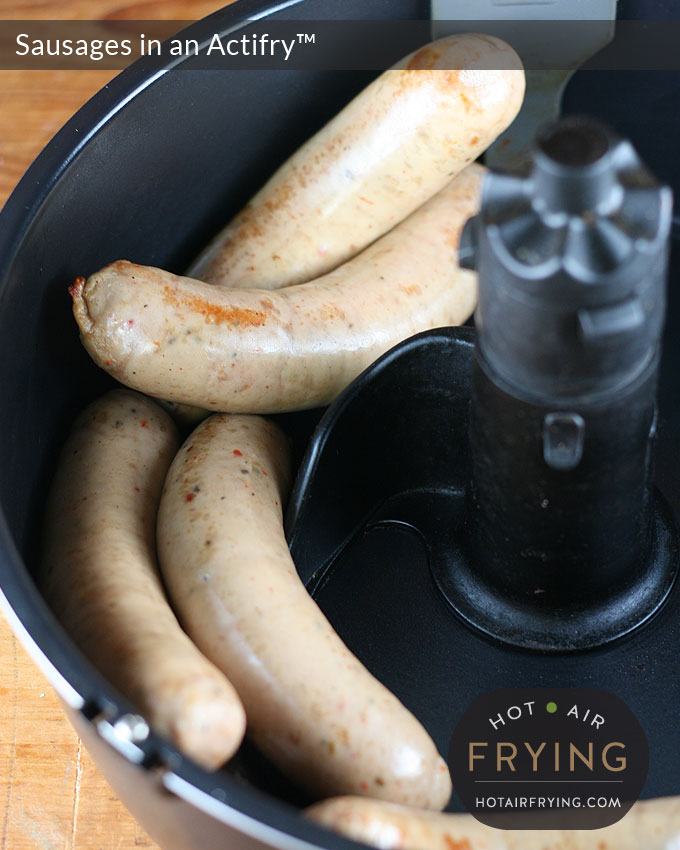 sausages-in-an-actifry